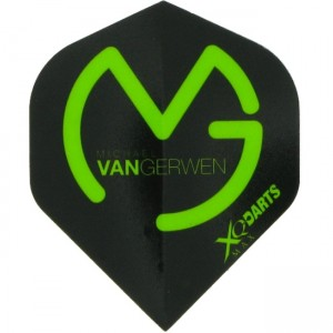 Michel van Gerwen XQM Black/Green