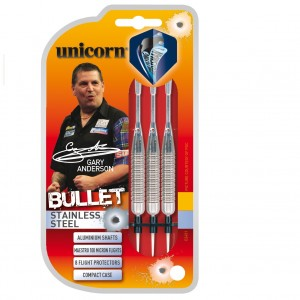 Gary Anderson Bullet Stainless  Tip Darts