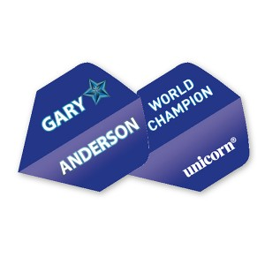 PRE ORDER Unicorn Gary Anderson Flight Blue Star