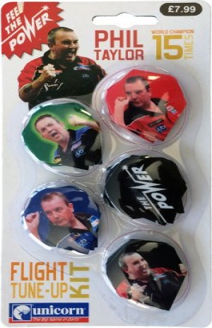 Unicorn Phil Taylor Flight Tune-Up Kit (5 sets of flights)