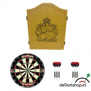 redlion light kabinet startersset darts dartpijlen
