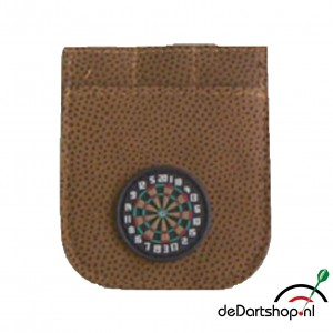 Dart Etui Brown Leder