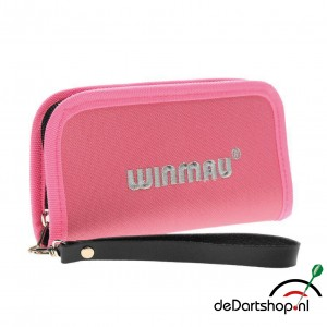 Winmau Super Darts and Accessory Case in Wild Roses Pink