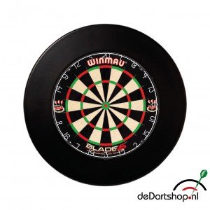 Winmau Blade 5 plus surround ring zwart
