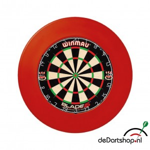 Winmau Blade 5 plus surround ring rood