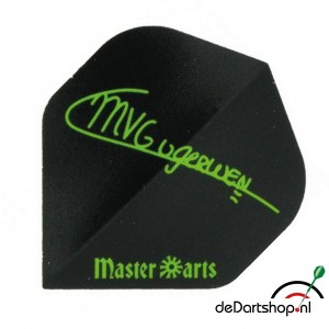 Flight Michael van Gerwen Black/Green