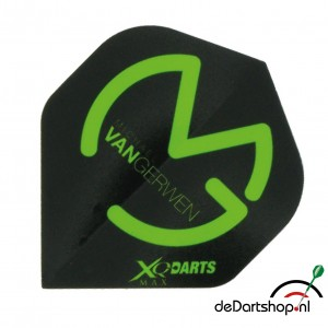 Flight Michael van Gerwen XQM Black/Green