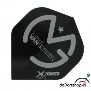 Flight Michael van Gerwen XQM Black/Silver