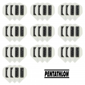10 - Sets Pentathlon 100 micron flights - Wit