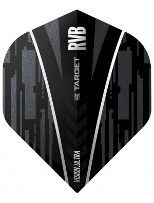 Raymond van Barneveld Ultra Ghost Black Dart Flights