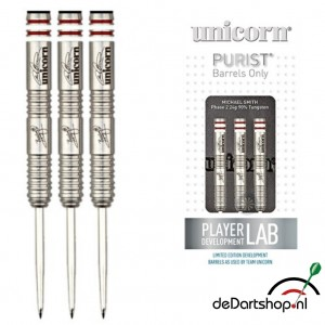 Michael Smith Purist Phase 2 90% Tungsten Unicorn dartpijlen