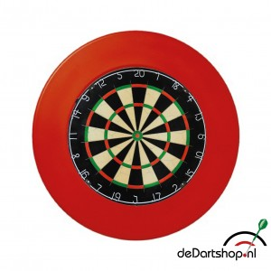 A-merk Blade dartbord plus surround ring rood