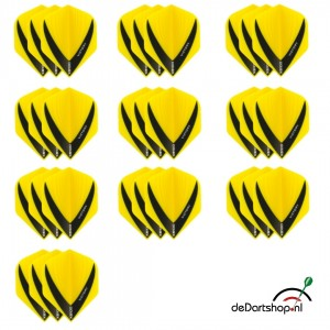10 - Sets XS100 Vista 100 micron flights - Geel