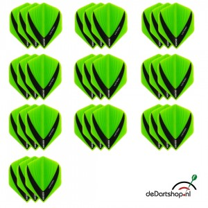 10 - Sets XS100 Vista 100 micron flights - Groen