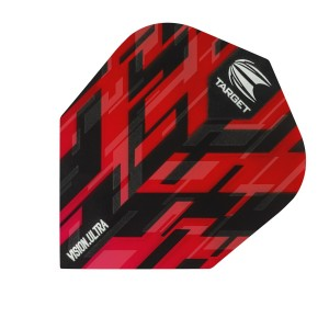 Flight Sierra Vision Ultra Rood - Target dartflights