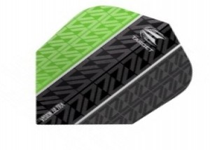 Vapor 8 Black Vision Ultra Flight Groen - target dartflights