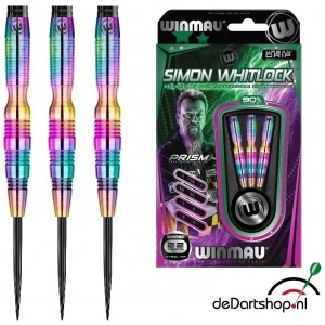 Simon Whitlock - 90% Rainbow Coated Tungsten - 22 en 24 gram - Winmau dartpijlen
