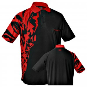 Harrows - Rapide - Red - darts shirt