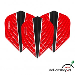 Quantum X Rood - Standaard shape - Harrows - darts flights