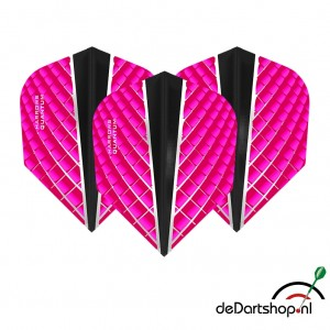 Quantum X Roze - Standaard shape - Harrows - darts flights