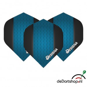 DSX Blue metal - 100 micron - darts flights