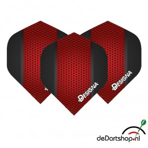 DSX Rood metal - 100 micron - darts flights