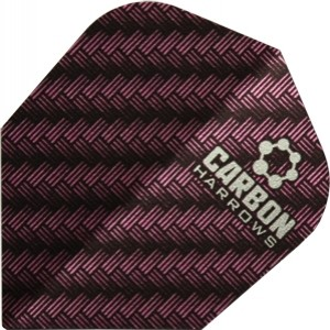Flight Harrows Carbon Pink - darts flights