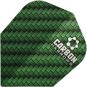 Flight Harrows Carbon Green - darts flights