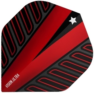 Flight Voltage Vision Ultra Red - Target darts flights