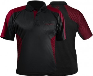 Harrows - Vivid - deep red - darts shirt