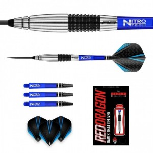 Cyclone 90% tungsten - 23 en 25 gram - Red Dragon dartpijlen