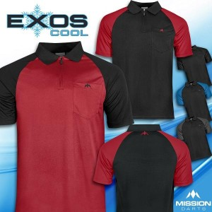 Mission Exos Cool dartshirt