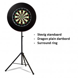 Dragon darts - Portable plain pakket - zwart