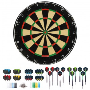 Dragon darts complete 501 - dartset - 4 sets - dartpijlen - darts shafts - darts flights - best geteste - dartbord