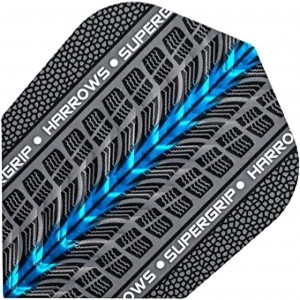 Harrows Supergrip Blue Flight