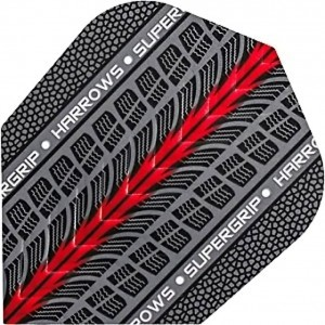Harrows Supergrip Red Flight
