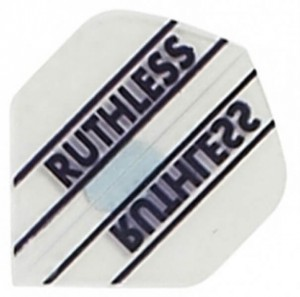 Flight Ruthless Clear - darts flights