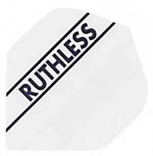 Flight Ruthless White - darts flights