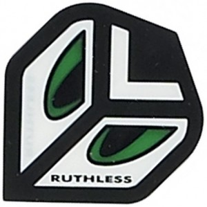 Flight Eyes Green Ruthless - darts flights