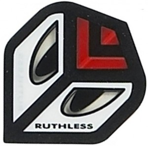 Flight Eyes Red Ruthless - darts flights