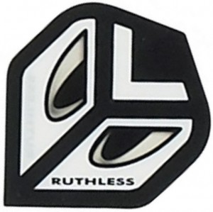 Flight Eyes White Ruthless - darts flights
