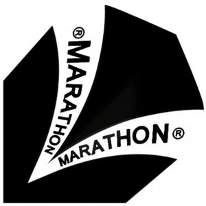 Flight Marathon Black Harrows - darts flights
