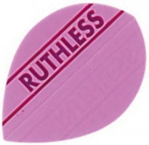 Flight Pear Ruthless Pink - darts flights