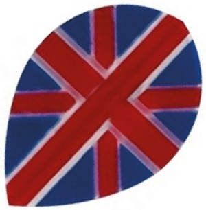 Flight Pear Union Jack - darts flights